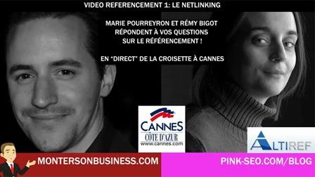 Vidéo référencement netlinking