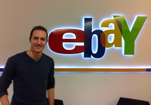 Dans les locaux d'eBay à Zurich pour mon nouveau job !