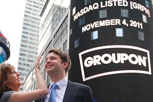 Introduction de Groupon en bourse