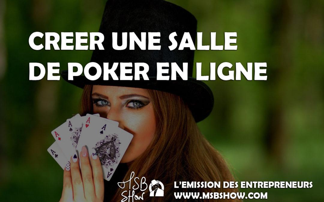 Créer une salle de poker en ligne