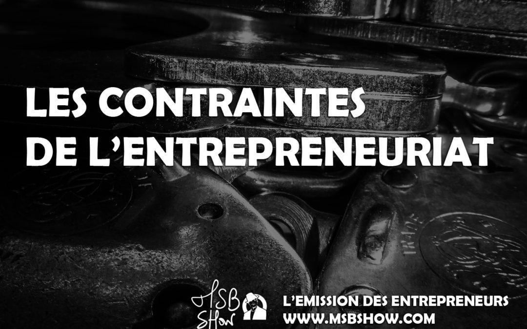 Les contraintes de l'entrepreneur