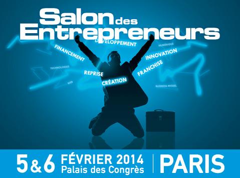 Salon des entrepreneurs 2014 à Paris
