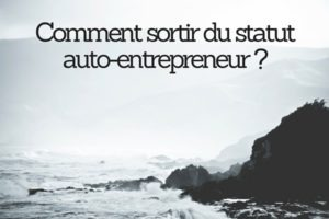 changer statut auto-entrepreneur