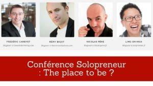 conférence entrepreneur