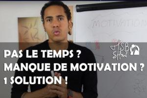Motivation temps entreprendre