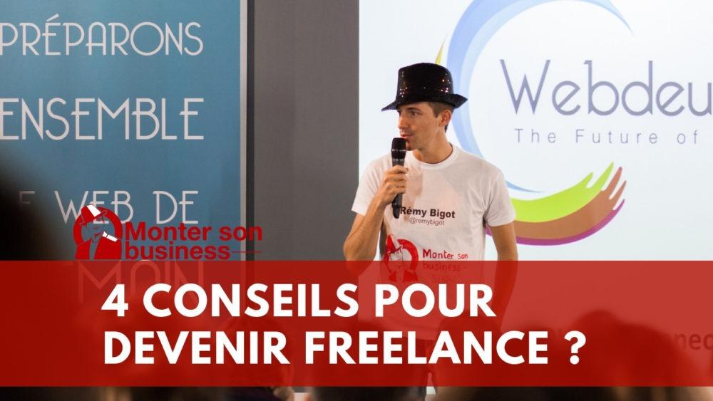 Conseils devenir freelance