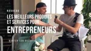 produits services entrepreneurs