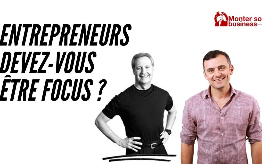 focus entrepreneur