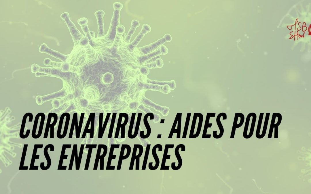 aides entreprises coronavirus