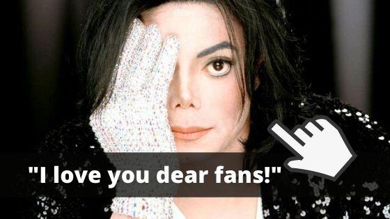 Découvrez de belles choses de Michael Jackson