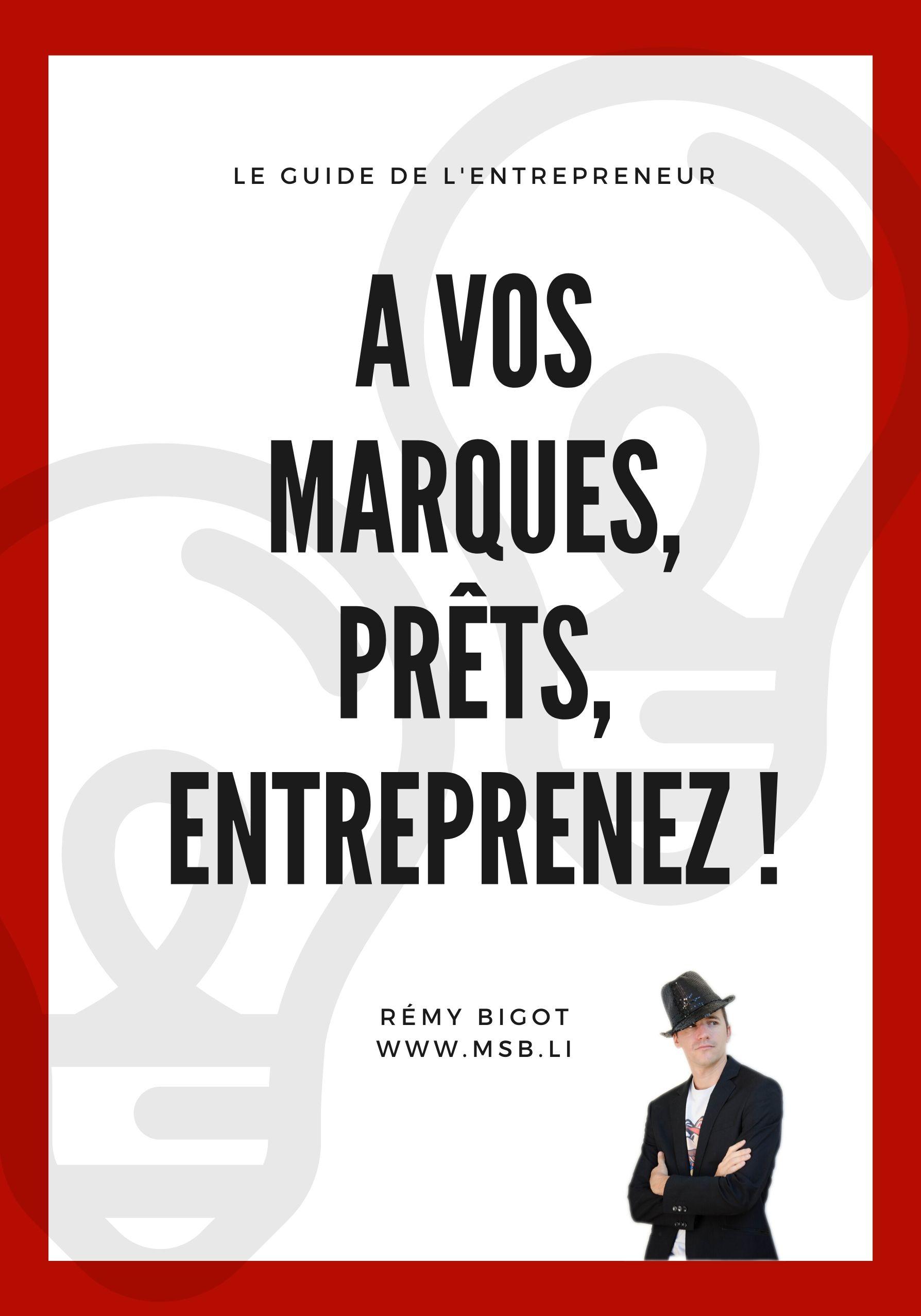 Livre devenir entrepreneur