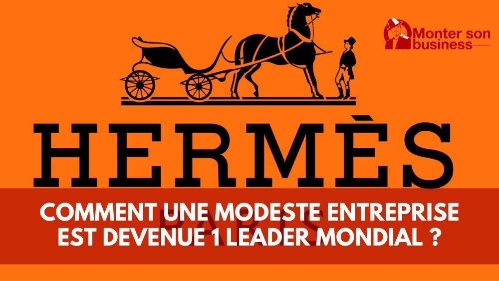 Hermès leader mondial du luxe