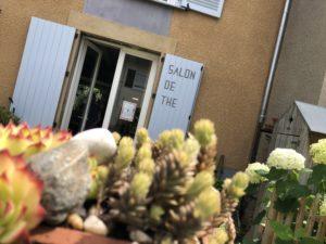 extérieur salon de thé Limoges