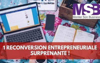C'est l'histoire d'une belle reconversion entrepreneuriale