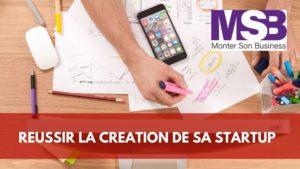 création startup