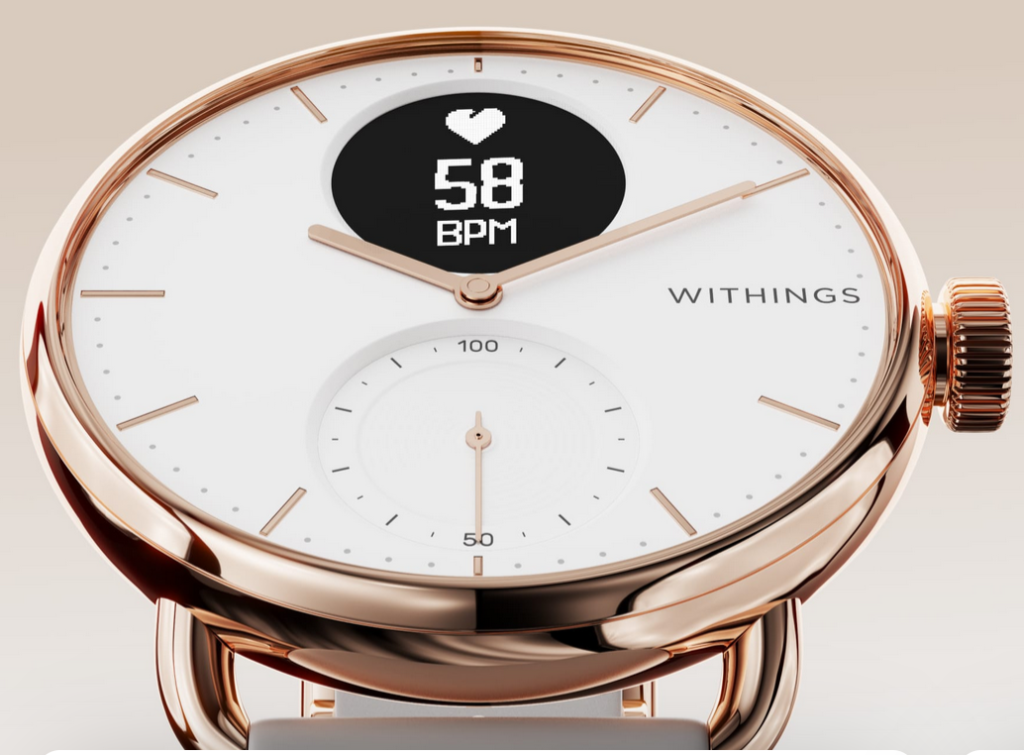 Scanwatch, la montre iconique de Withings