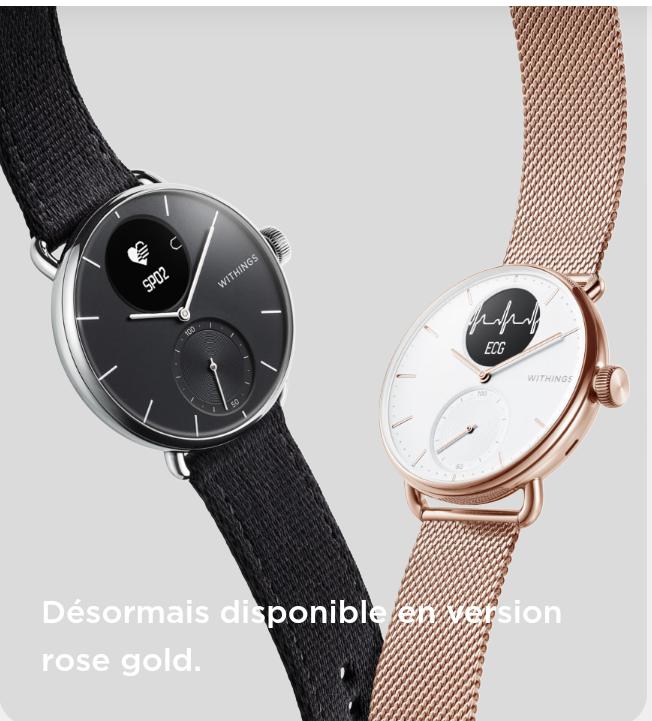 Le style casual de la montre Go